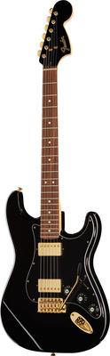 Fender LTD Strat Mah Blacktop BK