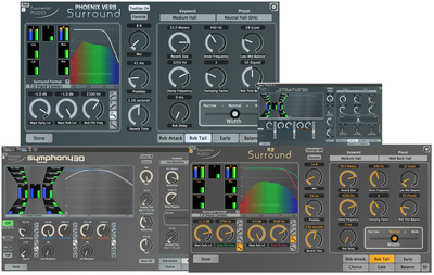 Exponential Audio Surround 3D Reverb Bundle