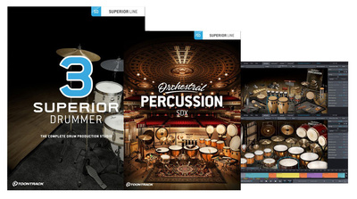 Toontrack Superior Drummer 3 Orch. Edit.