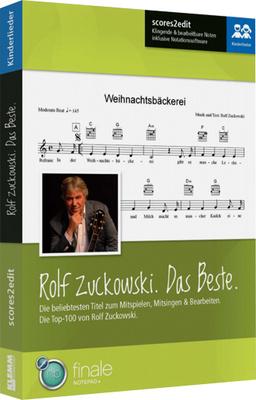scores2edit Das Beste von Rolf Zuckowski