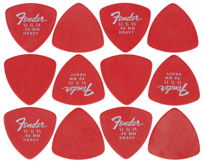 Fender 346 Dura-Tone Picks FRD