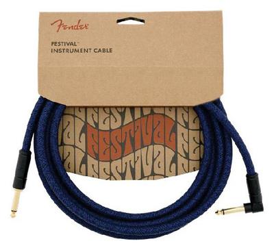 Fender FV Series Cable Cotton Blue Dr