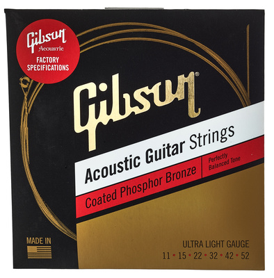 Gibson Coated Phosp. Bronze Ult.Light