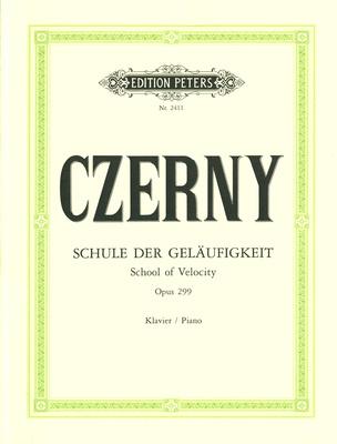 Edition Peters Czerny Schule der Geläufigkeit