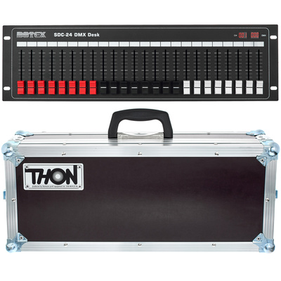 Botex SDC-24 DMX Desk Road Pack