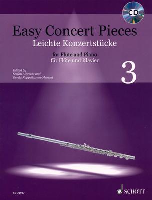 Schott Easy Concert Pieces Flute 3