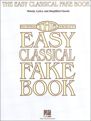 Hal Leonard The Easy Classical Fake Book
