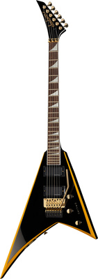Jackson RRX24 Black with Yellow Bevels