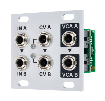 Intellijel Designs Dual VCA 1U