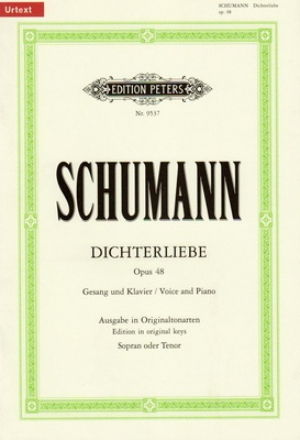 Edition Peters Schumann Dichterliebe op. 48