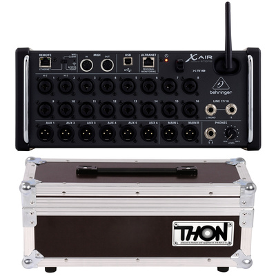 Behringer X Air XR18 Thon Case Bundle