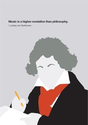 My World Beethoven Greeting Card