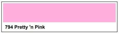 Lee Filter Roll 794 Pretty `n Pink