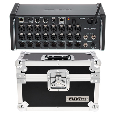 Midas MR 18 Flyht Case Bundle