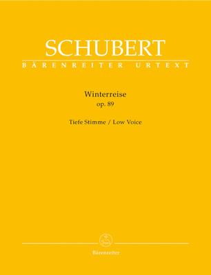 Bärenreiter Schubert Winterreise Tief