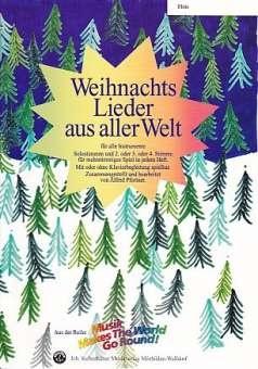 Siebenhüner Musikverlag Weihnachten Welt Flute