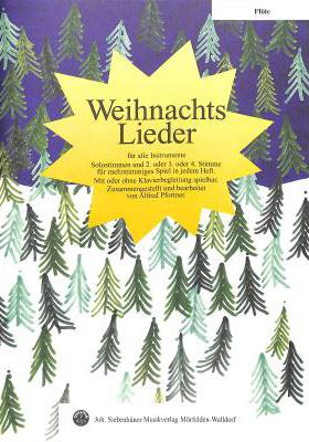 Siebenhüner Musikverlag Weihnachtslieder Flute