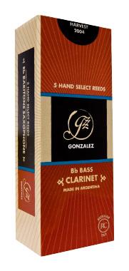 Gonzalez RC Basso Clarinet Reed 3,0