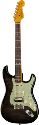 Fender 63 Strat FMT HSS TBLK Relic