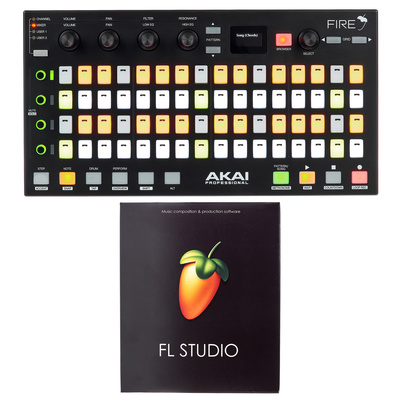 Akai Fire FL Studio Producer Bundle