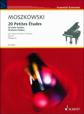 Schott Moszkowski 20 Petites Etudes