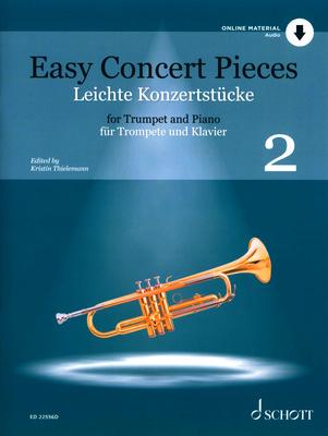 Schott Easy Concert Pieces Trumpet 2