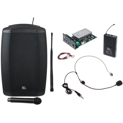 the box MBA120W MKII Bodypack Bundle