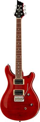 Harley Benton CST-24T Wine Red Flame Deluxe