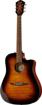 Fender Limited FA-325CE Mocha Burst
