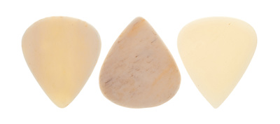 Clayton Sleek Bone Plectrum Set
