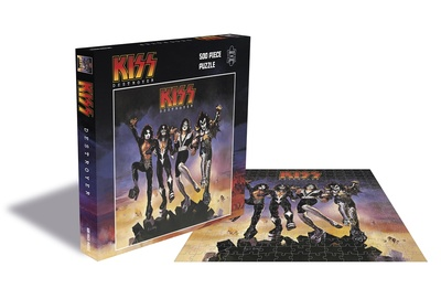 Plastic Head Jigsaw Puzzle KISS