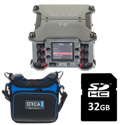 Zoom F6 Orca Bag Bundle