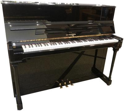 Seiler Piano, used, black