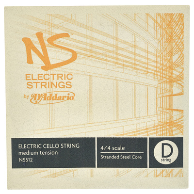 Daddario NS512 Electric Cello D String