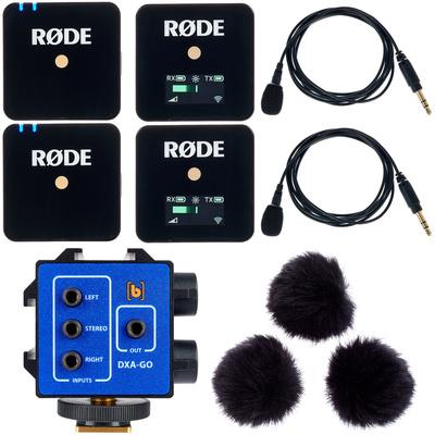 Rode Wireless GO Set Bk