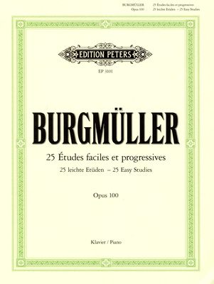 Edition Peters Burgmüller Etüden