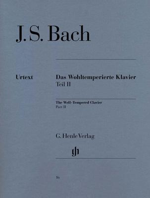 Henle Verlag Bach Wohltemperiert Klavier II