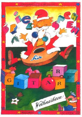 Ricordi Spielsachen Gitarre Weihnacht