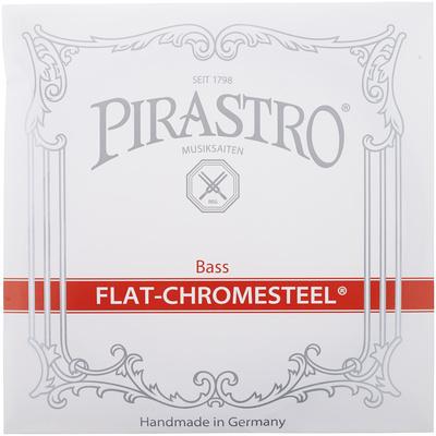 Flat Chromesteel Bass 4/4-3/4