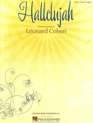 Hal Leonard Hallelujah Leonard Cohen Piano
