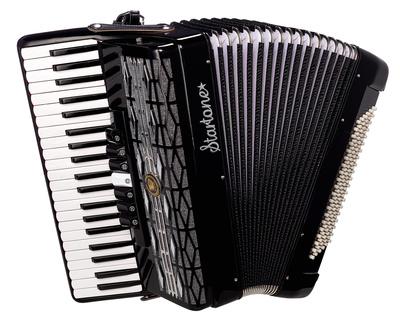 Startone Piano Accordion 120 BK