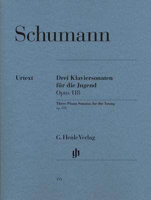 Henle Verlag Schumann Drei Klaviersonaten