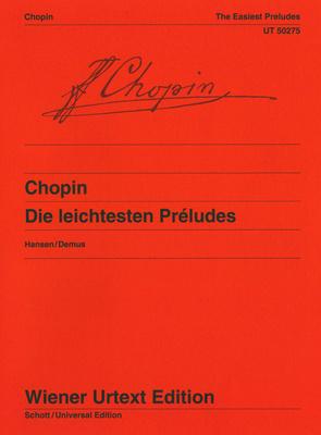 Wiener Urtext Edition Chopin Die leichtesten Prelude