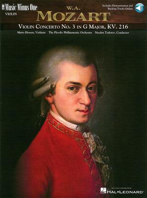 Music Minus One Mozart Violin Concerto No.3