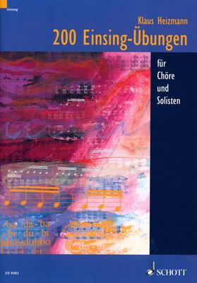 Schott 200 Einsing-Übungen für Chöre
