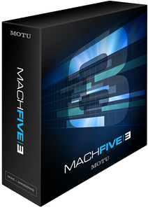 MOTU Mach Five 3 Update