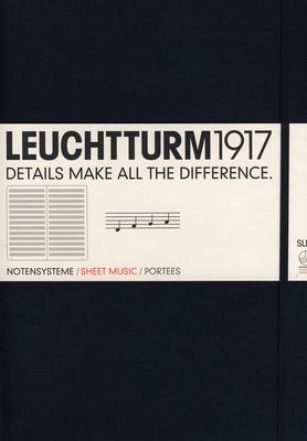Leuchtturm 1917 Sheet Music Book