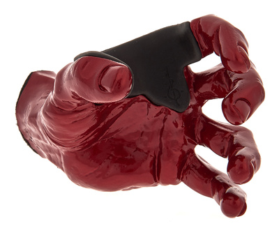 Guitar Grip Red Metallic Male Hand left