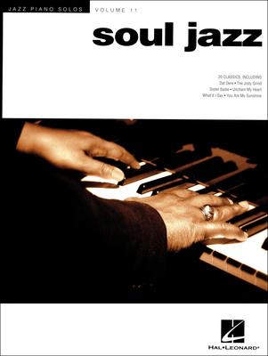 Hal Leonard Jazz Piano Solos Soul Jazz