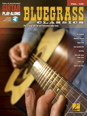 Hal Leonard Guitar Play-Along Bluegrass